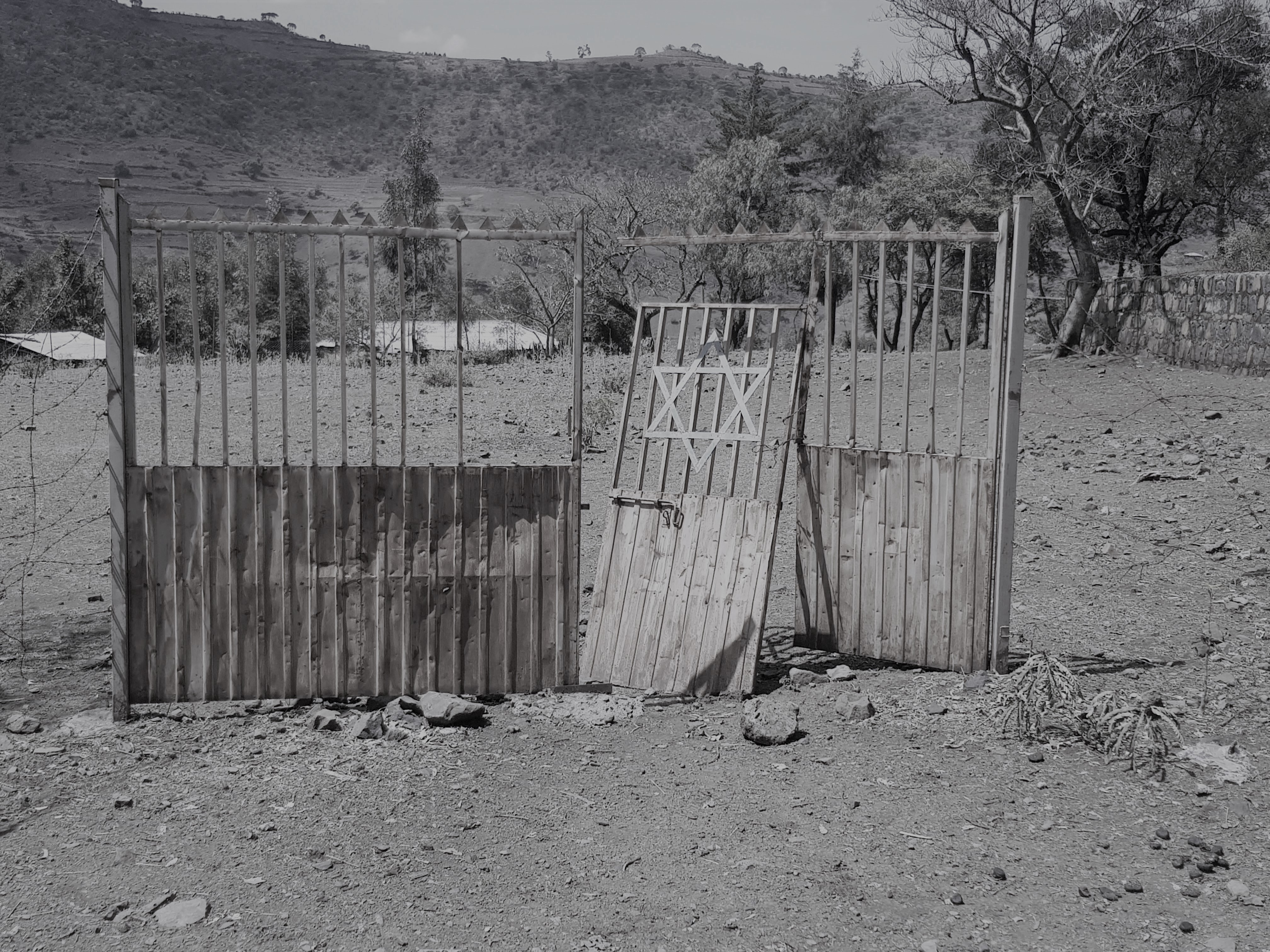Beta Israel village, Ethiopia. Photo:Ronen Levy.