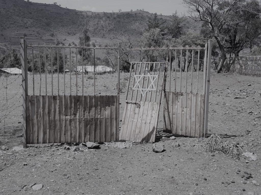 כפר יהודי, אתיופיה. צילום:רונן לוי.