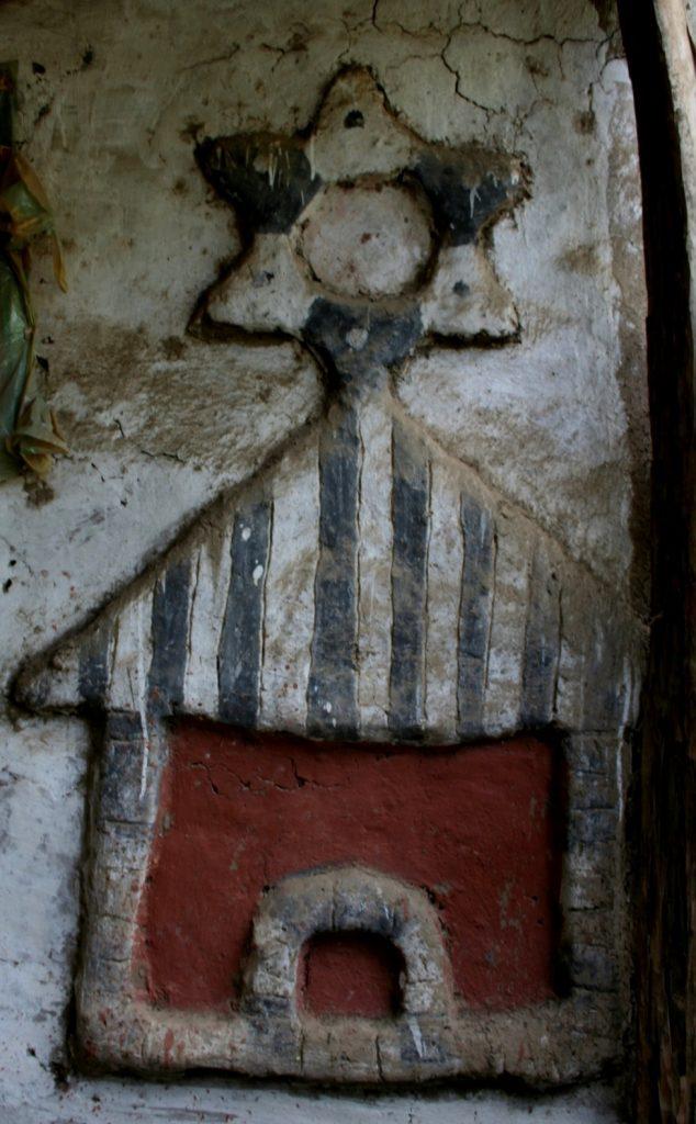 עבודת חימר בכפר במחוז גונדר, אתיופיה. צלם:דידר סונק. באדיבות וויקיפדיה